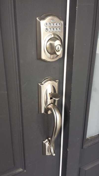 Keyless Locks Installation